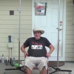 Watch Doc Lucky's ALS Ice Water Bucket challenge Rube Goldberg machine here:  http://youtu.be/iMw3JD2CGzo