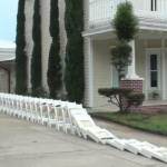 Worlds largest chair domino effect used in Coach Lucky's Ice Water Bucket Challenge  WATCH BY CLICKING HERE