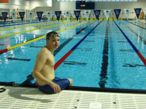 Jesse set two para-swimming national records!