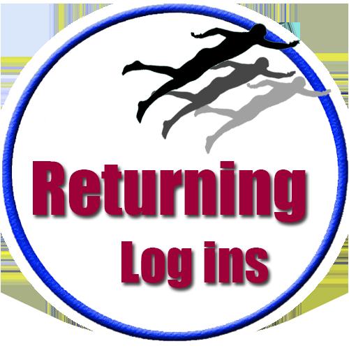 Lucky's Lake Swim Returning Logins